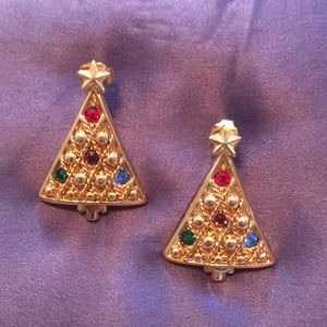 Christmas 🎄 tree earrings